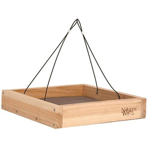 Nature's Way Cedar Platform Tray Bird Feeder Review