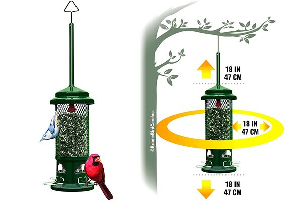 Brome Squirrel Buster Bird Feeder review