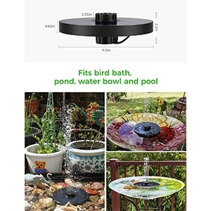 OKMEE Solar Fountain