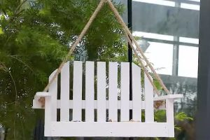 Solution4Patio Swing Chair Bird Feeder